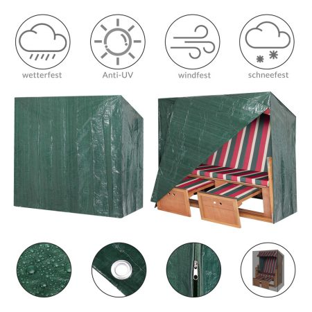 PE Cover for Beach Chair 125x90x165/ 135cm - Kingsleeve