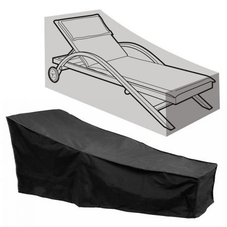 Patio Lounge Chair Cover 420D Chair Top Replacement Sun Shade Cover Waterproof Cover for Outdoor Garden Patio Yard Park Seat Furniture